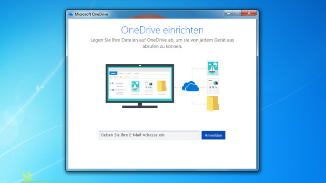 OneDrive: Onlinespeicher in Explorer integrieren ©COMPUTER BILD