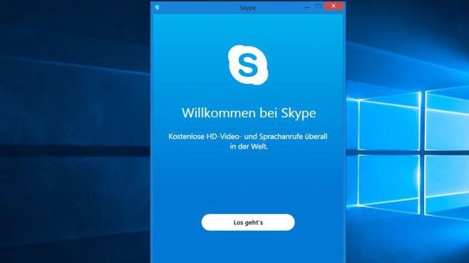 Skype: Online telefonieren und chatten ©COMPUTER BILD