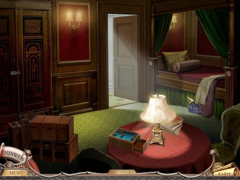 Screenshot 1 - Titanic Mystery 2: Mord auf der Titanic – Kostenlose Vollversion