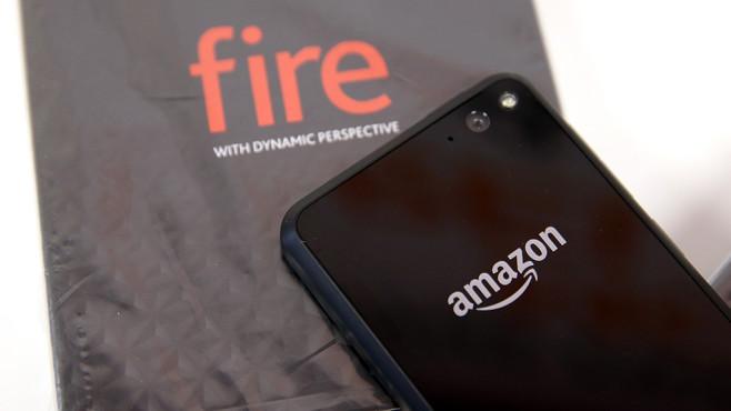 Amazon Fire Phone: Verkauf und Produktion eingestellt.©Justin Sullivan/gettyimages