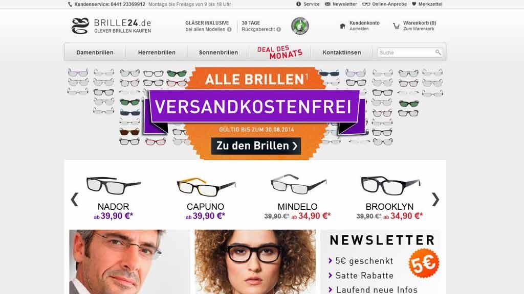 Online Optiker Test