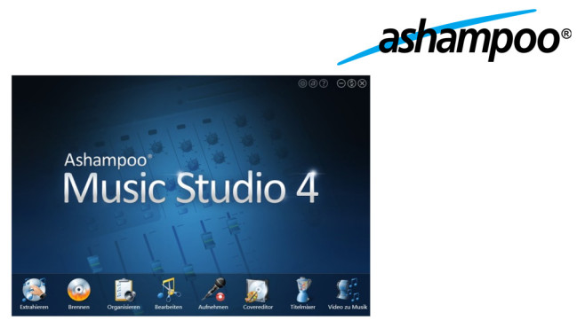 Ashampoo Music Studio 4 – Kostenlose Vollversion © Ashampoo