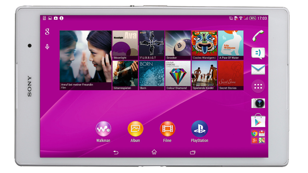 sony xperia z3 tablet compact test des edel tablets. Black Bedroom Furniture Sets. Home Design Ideas