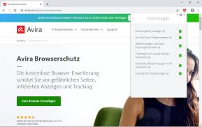 Avira Browserschutz für Chrome