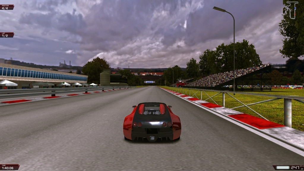 Screenshot 1 - X Speed Race 2