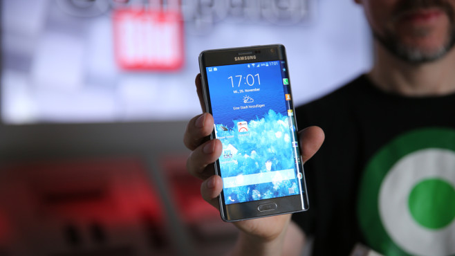 Samsung Galaxy Note Edge (US-Version) © COMPUTER BILD