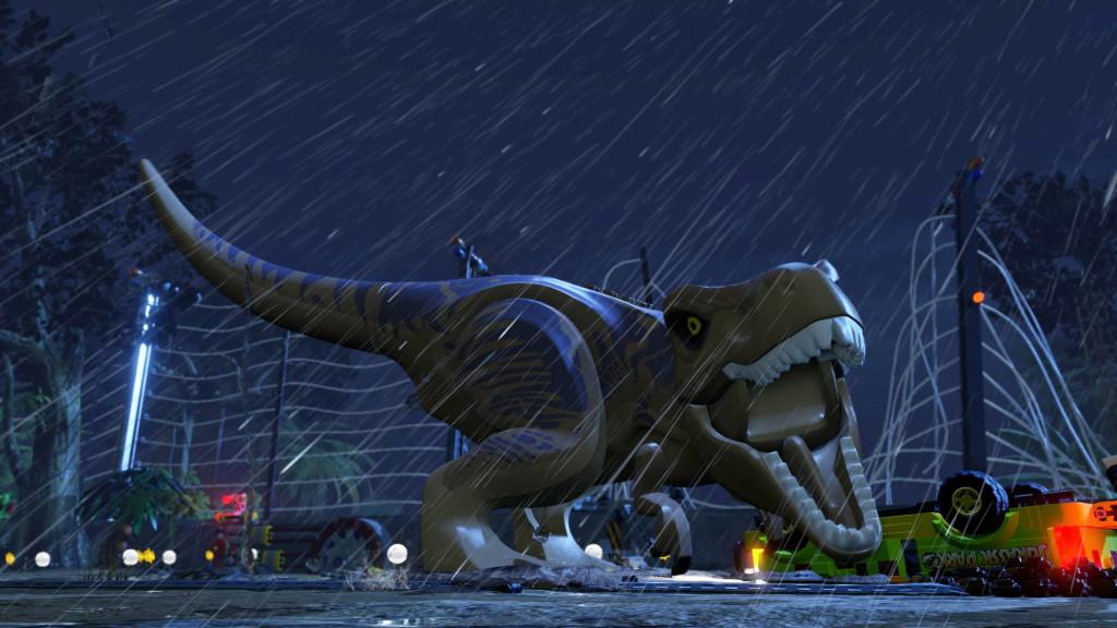 Lego Jurassic World: T-Rex©Warner Bros. Interactive