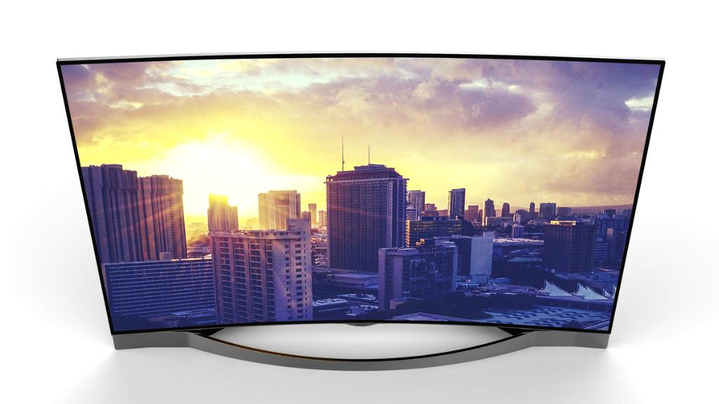 medion life x18028 billiger curved tv audio video foto bild. Black Bedroom Furniture Sets. Home Design Ideas