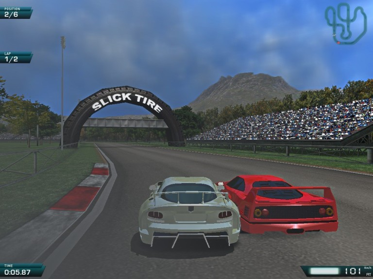 Screenshot 1 - Speed Rally Pro