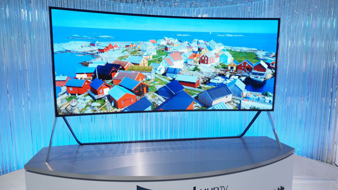 Samsung Curved Bendable TV © Samsung