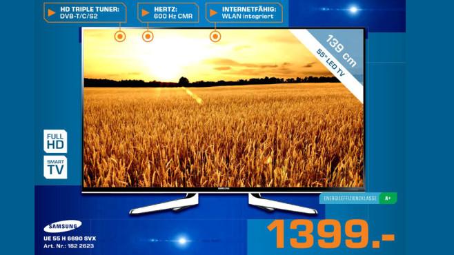 Samsung UE55H6690 ©Saturn