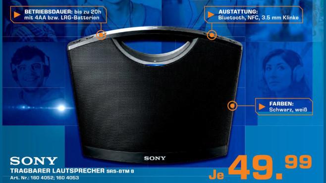 Sony SRS-BTM8 ©Saturn