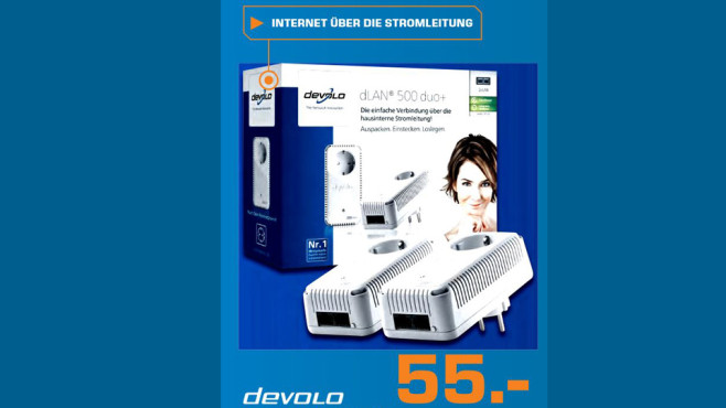 devolo dLAN 500 duo+ Starter Kit ©Saturn