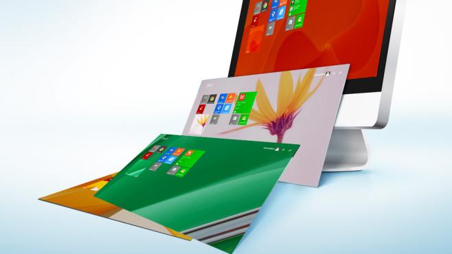 Windows 8: Automatischer Hintergrund-Wechsel auf der Kachel-Oberfläche Peppen Sie die Startoberfläche von Windows 8 auf. Mit wenigen Klicks stellen Sie einen automatischen Bild-Wechsel ein.©Microsoft, PureSolution - Fotolia.com