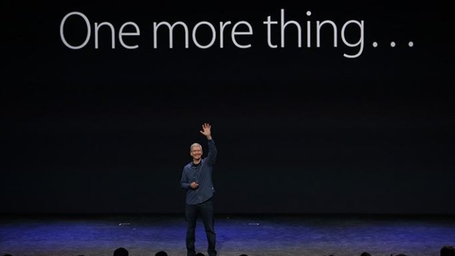 One more thing ... ©Apple