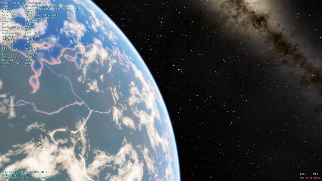 Screenshot 1 - Space Engine