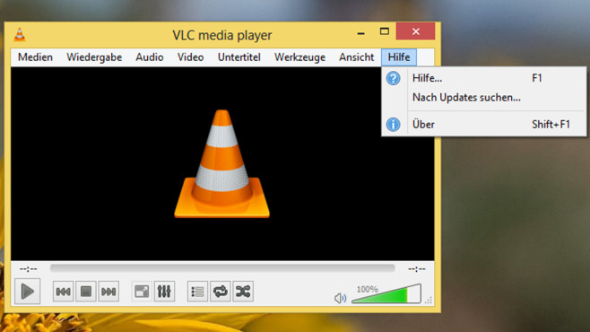 Musik/Videos nicht abspielbar: VLC Media Player ©COMPUTER BILD