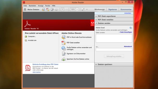 PDF-Dateien nicht anzeigbar: Adobe Reader, Foxit Reader, PDF-XChange Viewer ©COMPUTER BILD