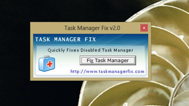 Task-Manager gesperrt: Task Manager Fix ©COMPUTER BILD
