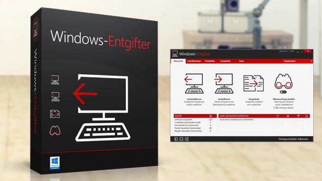 Unvollständige Deinstallationen: Ashampoo Windows-Entgifter – Kostenlose Vollversion ©COMPUTER BILD