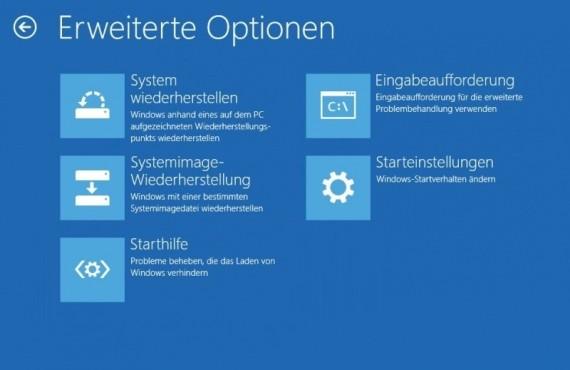 Windows-Start klappt nicht mehr: Systemreparaturdatenträger ©COMPUTER BILD