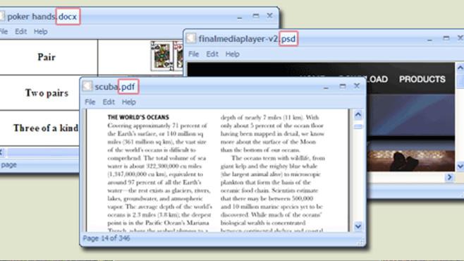 Öffnen von Dateien klappt nicht: FreeFileViewer ©COMPUTER BILD