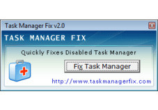 Screenshot 1 - Task Manager Fix