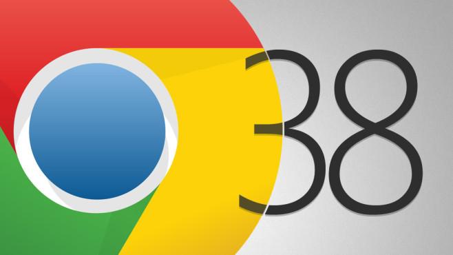 Google Chrome 38©Google