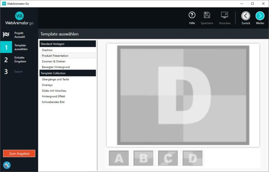 Screenshot 1 - WebAnimator Go – Kostenlose Vollversion