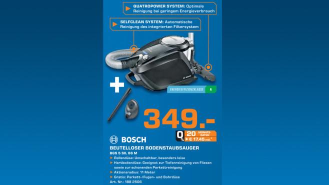 Bosch BGS5SIL66M ©Saturn