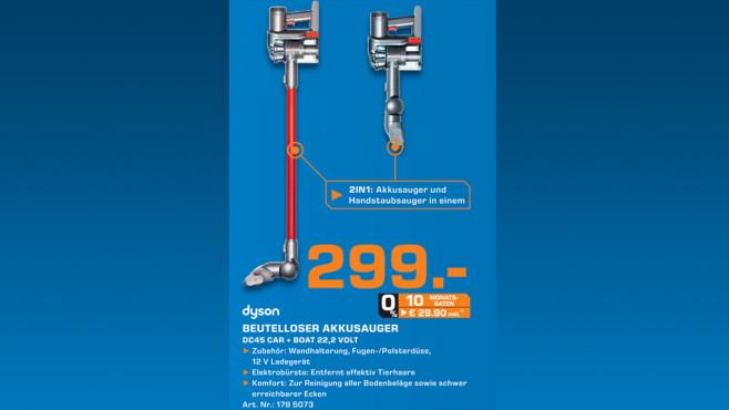 Dyson DC 45 Digital Slim ©Saturn