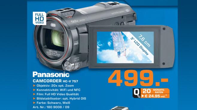 Panasonic HC-V757 ©Saturn