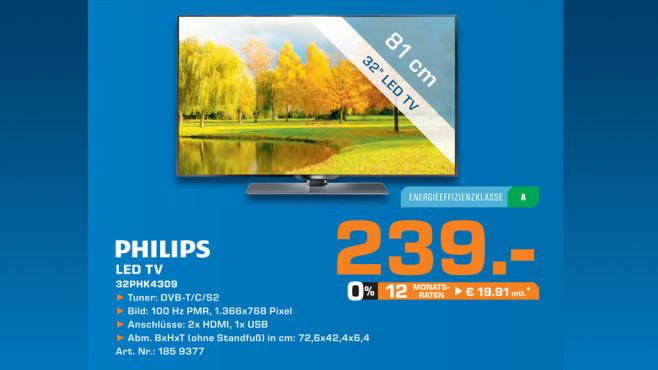 Philips 32PHK4309 ©Saturn