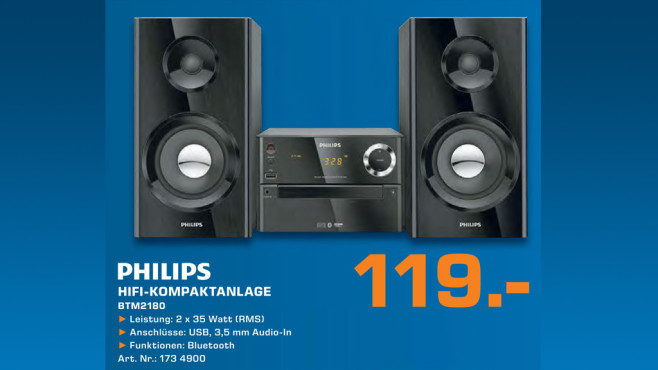 Philips BTM2180 ©Saturn
