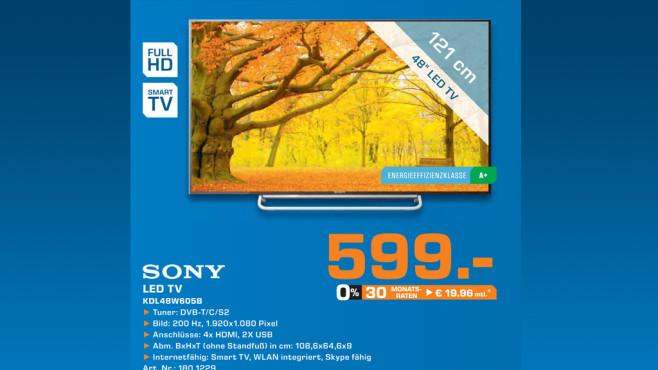 Sony KDL-48W605B ©Saturn