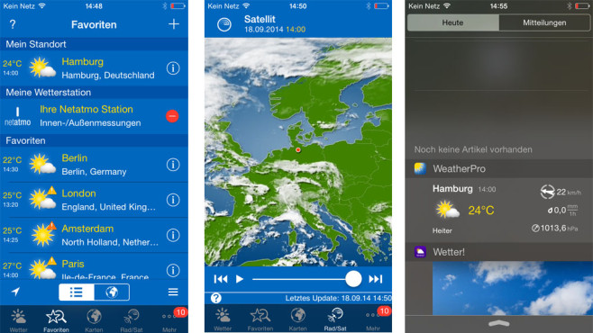 Weather Pro © Meteo Group