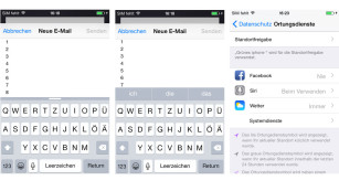 Screenshots iOS 8 © COMPUTER BILD
