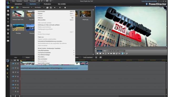 PowerDirector 11 LE – Kostenlose Spezial-Version ©COMPUTER BILD