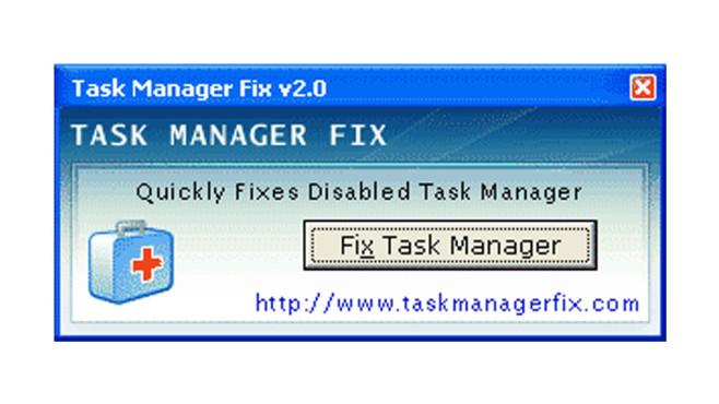 Task Manager Fix ©COMPUTER BILD