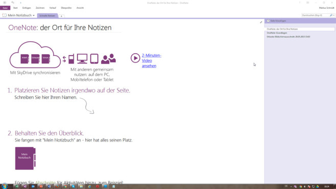 OneNote Preview © COMPUTER BILD