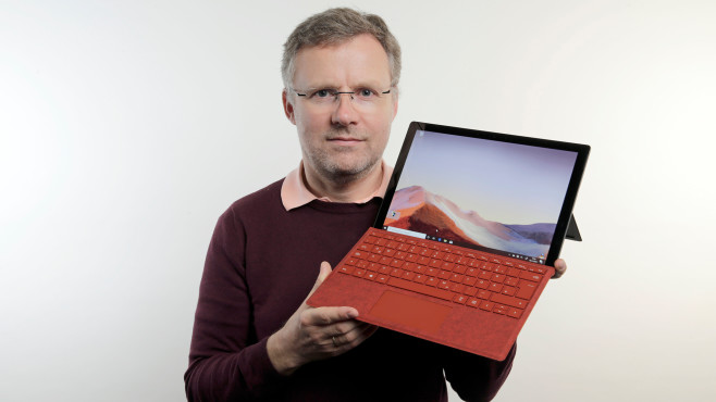 Microsoft Surface Pro 7 ©COMPUTER BILD
