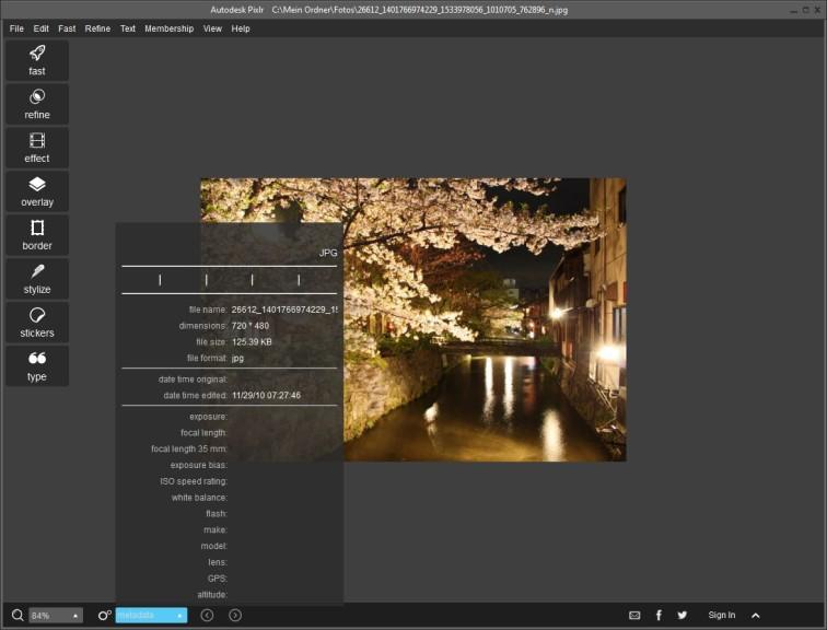 Screenshot 1 - Autodesk Pixlr