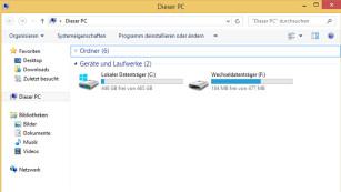 Windows 8: So entfernen Sie die Ribbon-Leiste im Explorer Metro UI Tweaker befreit den Explorer vollständig von der Ribbon-Oberfläche. Die Bedienung entspricht anschließend der von Windows 7.©COMPUTER BILD