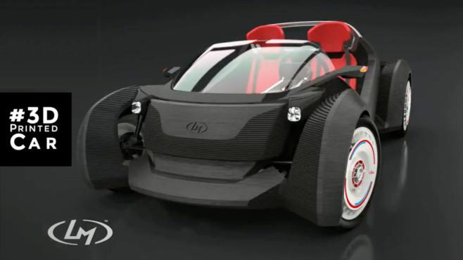 Das erste Auto aus dem 3D-Drucker©Local Motors
