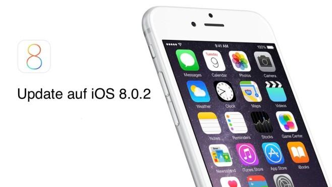 Update auf iOS 8.0.2©COMPUTER BILD