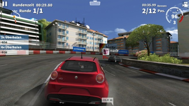 GT Racing 2: The Real Car Experience ©Gameloft