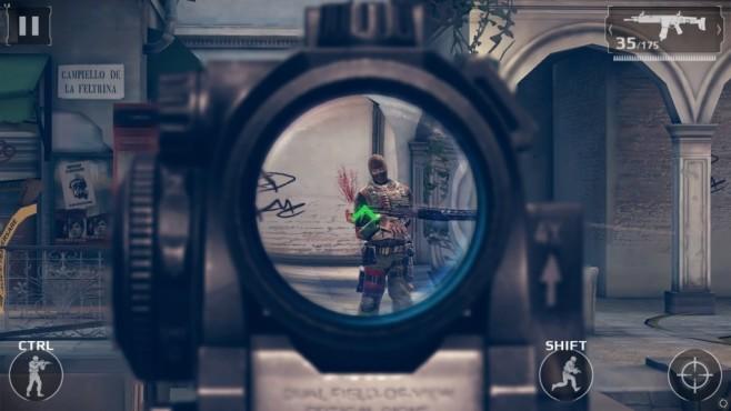 Modern Combat 5 ©Gameloft