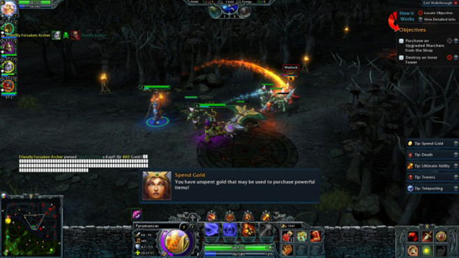 Online-Strategiespiel Heroes of Newerth © S2 Games