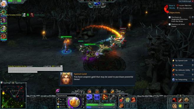 Online-Strategiespiel Heroes of Newerth ©S2 Games