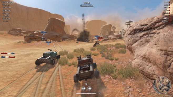 Platz : Crossout © Gaijin Entertainment